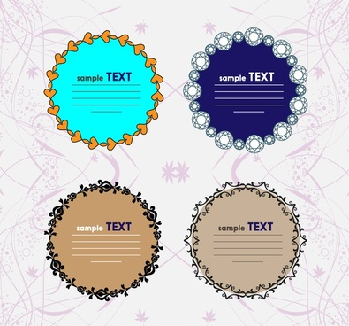 Round frame vector free vector download (9,288 Free vector) for ...