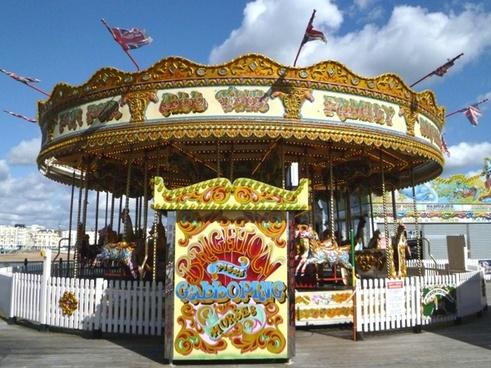 roundabout carousel funfair
