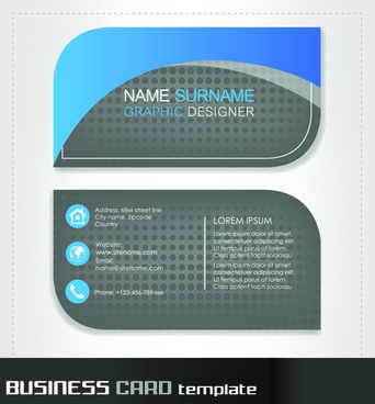 Round business cards template free vector download 33896 free rounded business cards template vector accmission Gallery