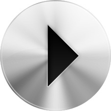 Rounded play button