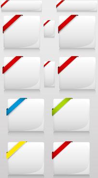 royal buttons vectors