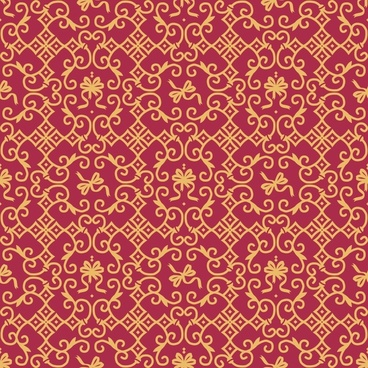 royal ornate background pattern vector