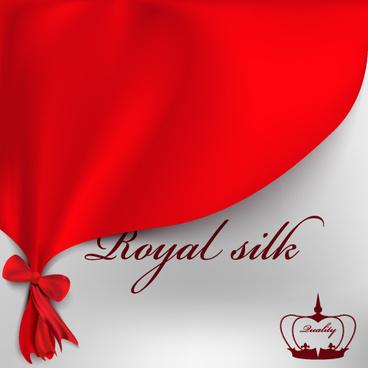 royal silk gift cards vector