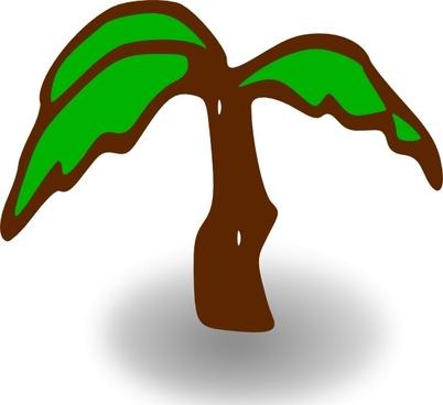 Rpg Map Symbols Palm Tree clip art