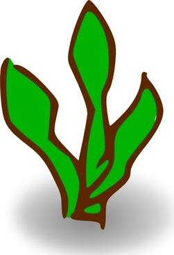 Vector architectural symbol plant free vector download