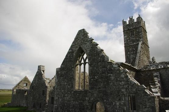 ruins abbey connemara
