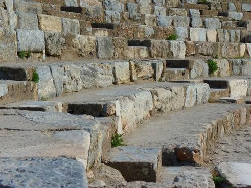 ruins ephesus theater