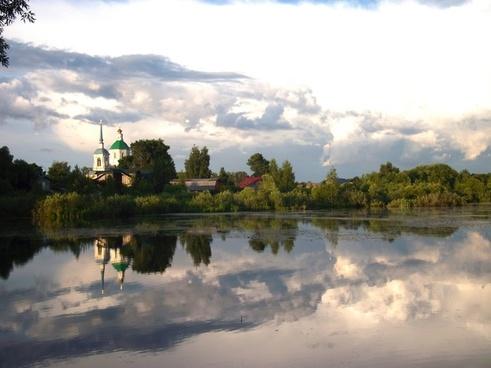 russia lake water