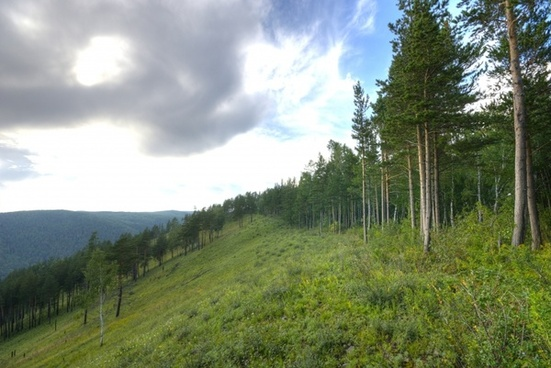 russia mountains hills