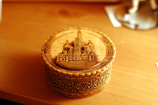 russian decorative box