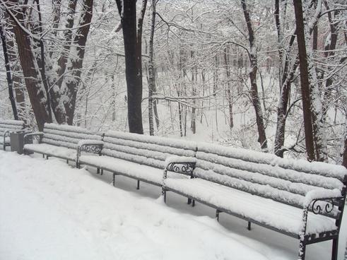 russian winter park