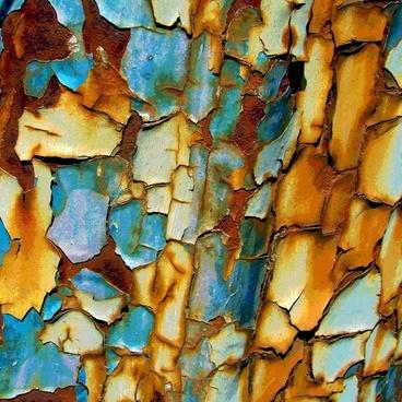 rusty paint rust