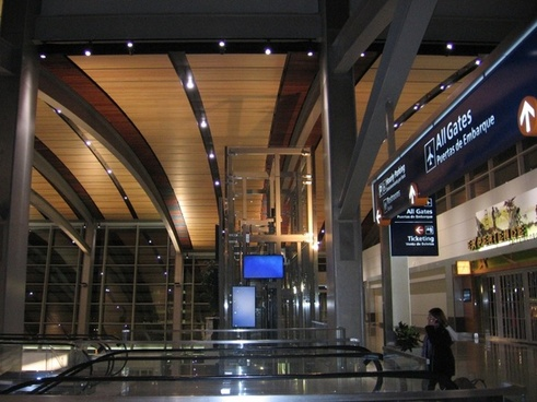 sacramento international airport terminal building