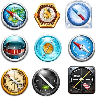 Safari Set icons pack