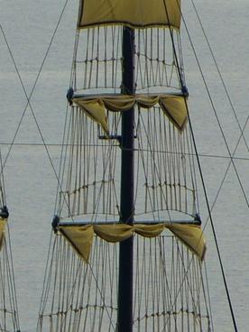 sail mast dew