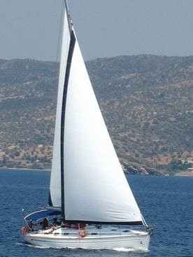 sailboat mediterranean greece
