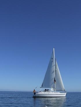 sailing boat baltic sea