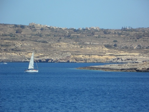 sailing boat sailing vessel sea