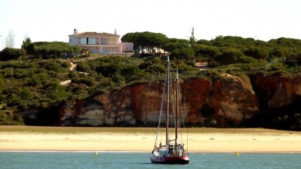 sailing vessel coast beach