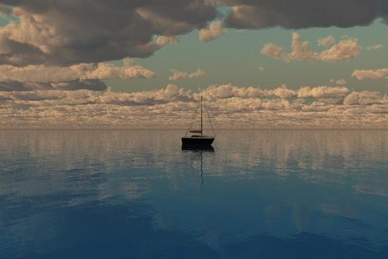 sailing water boat