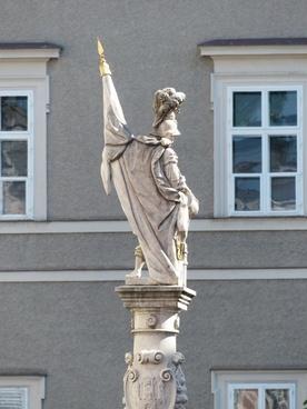 saint florian statue fountain