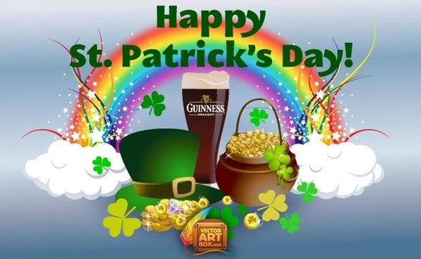 Saint Patrick Day Art