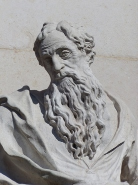 saint paul sword stone figure