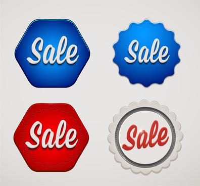 sale badge set