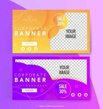 sale banner template sparkling modern colored checkered decor