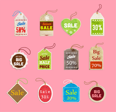 sale off tag collection