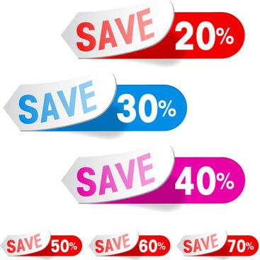 sale save sticker