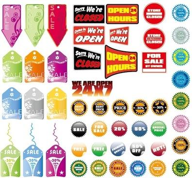sales decorative pattern vector
