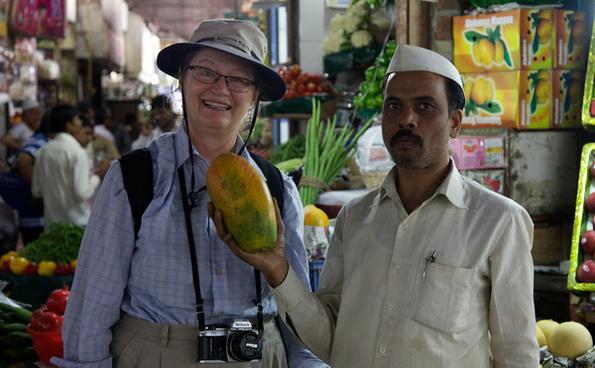 sally buys a very nice mango