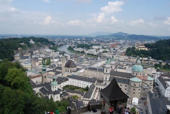 salzburg austria hohensalzburg