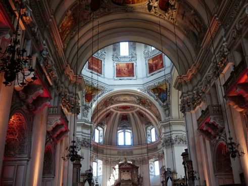 salzburg cathedral cathedral church