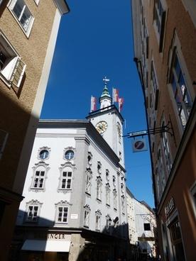 salzburg city hall town hall salzburg