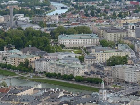 salzburg neustadt city view