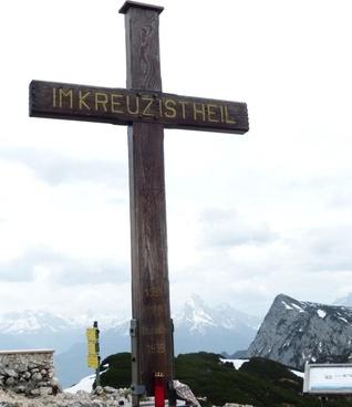 salzburger hochthron mountain alpine