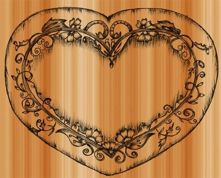 sample file from sketchy heart vector and photoshop brush