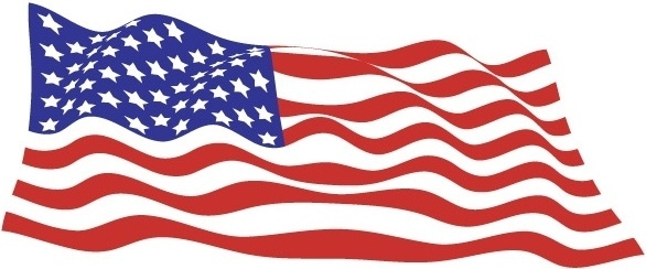 Sample file from USA flags vector pack