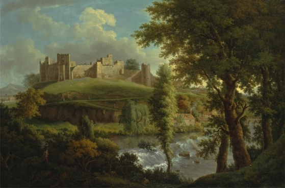 samuel scott painting oil on canvas