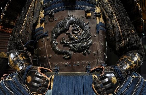 samurai fighter armor