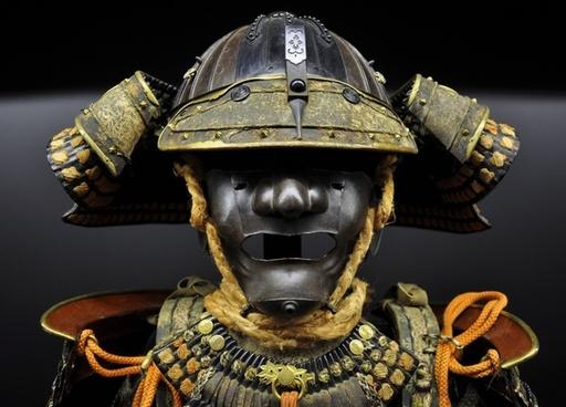 samurai suit helmet