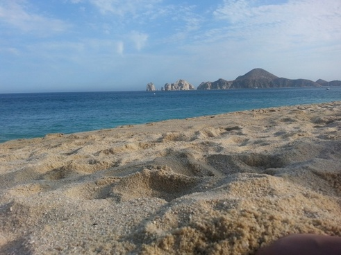 sand cabo arch