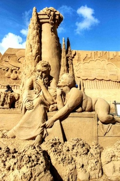 sand sand sculptures sandworld