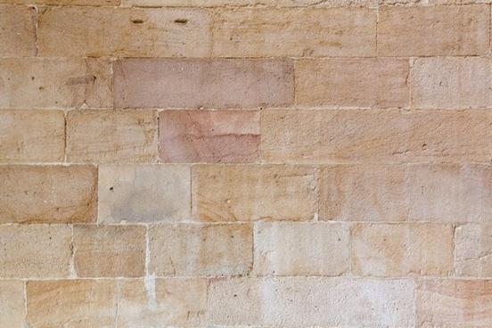 sandstone bricks wall