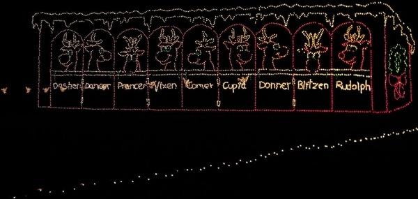 santa039s reindeer
