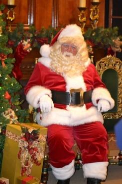 santa photography christmas