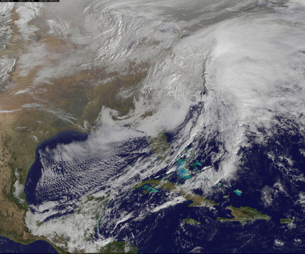 satellite views powerful winter storm battering mid atlantic and new england