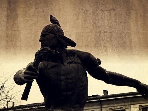 satire monument sculpture